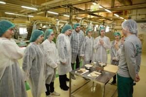 Vizita in fabrica Nestle din Timisoara