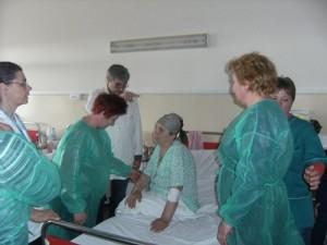 Curs infirmiere Crucea Rosie - Practica in spital Bacau