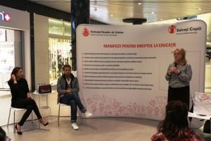 lansare manifest pentru educatie