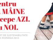 Raport Sustenabilitate Coca-Cola HBC Romania 2015